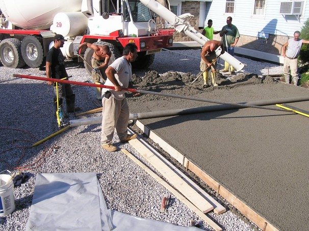 Restuccia Excavating Pervious Concrete Dover Roofing